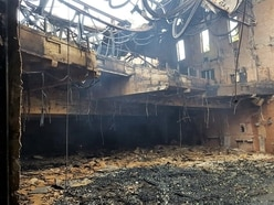Pictures show scale of damage after suspicious Birmingham cinema blaze
