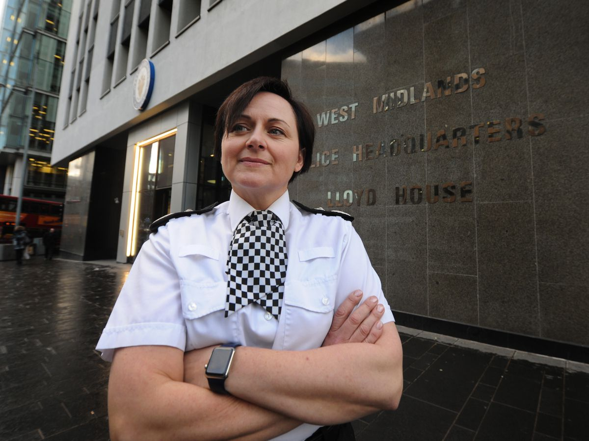 West Midlands Police Deputy Chief Constable Louisa Rolfe said police numbers alone will not solve the rise in knife crime