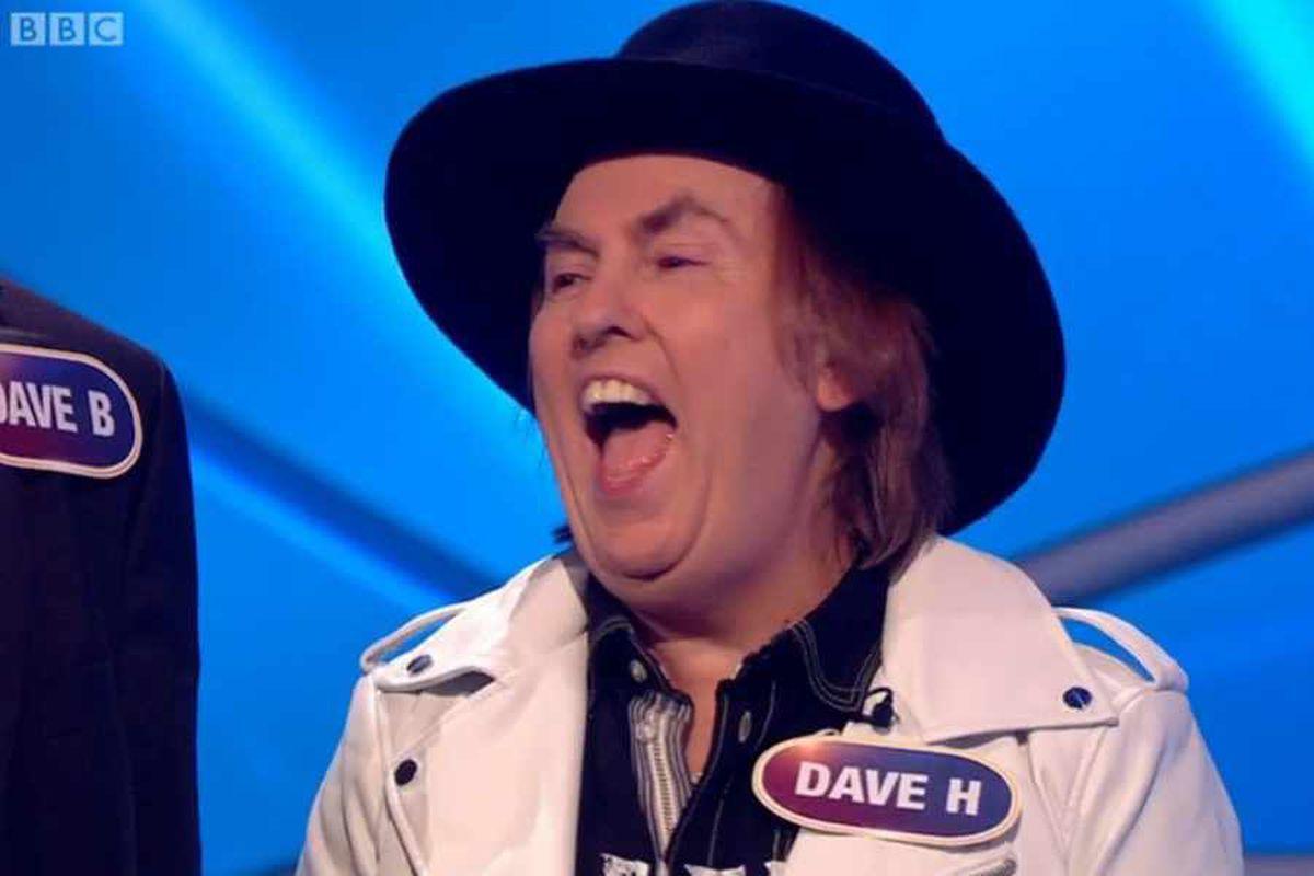 Slade star Dave wins Pointless