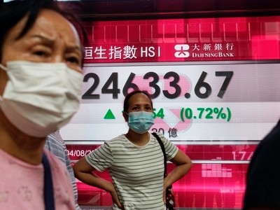 Asian markets follow Wall Street into the green