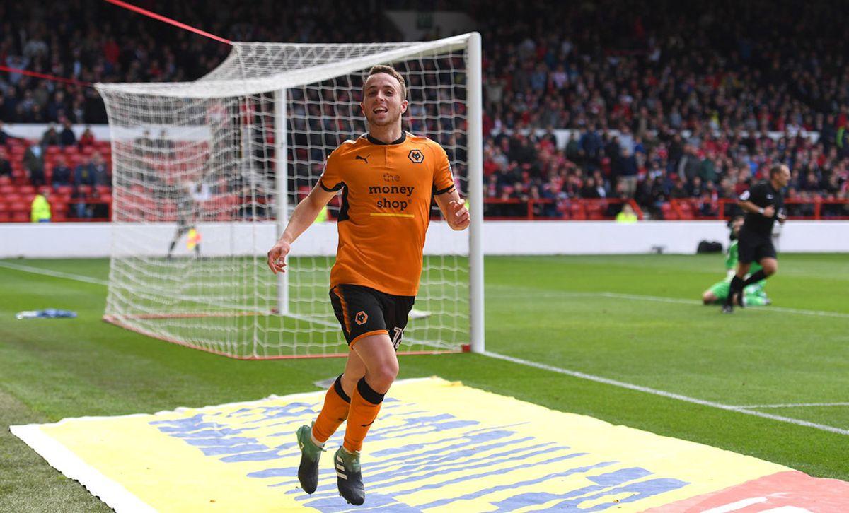 Diogo Jota has been a shining light in Wolves' season (© AMA / Sam Bagnall)