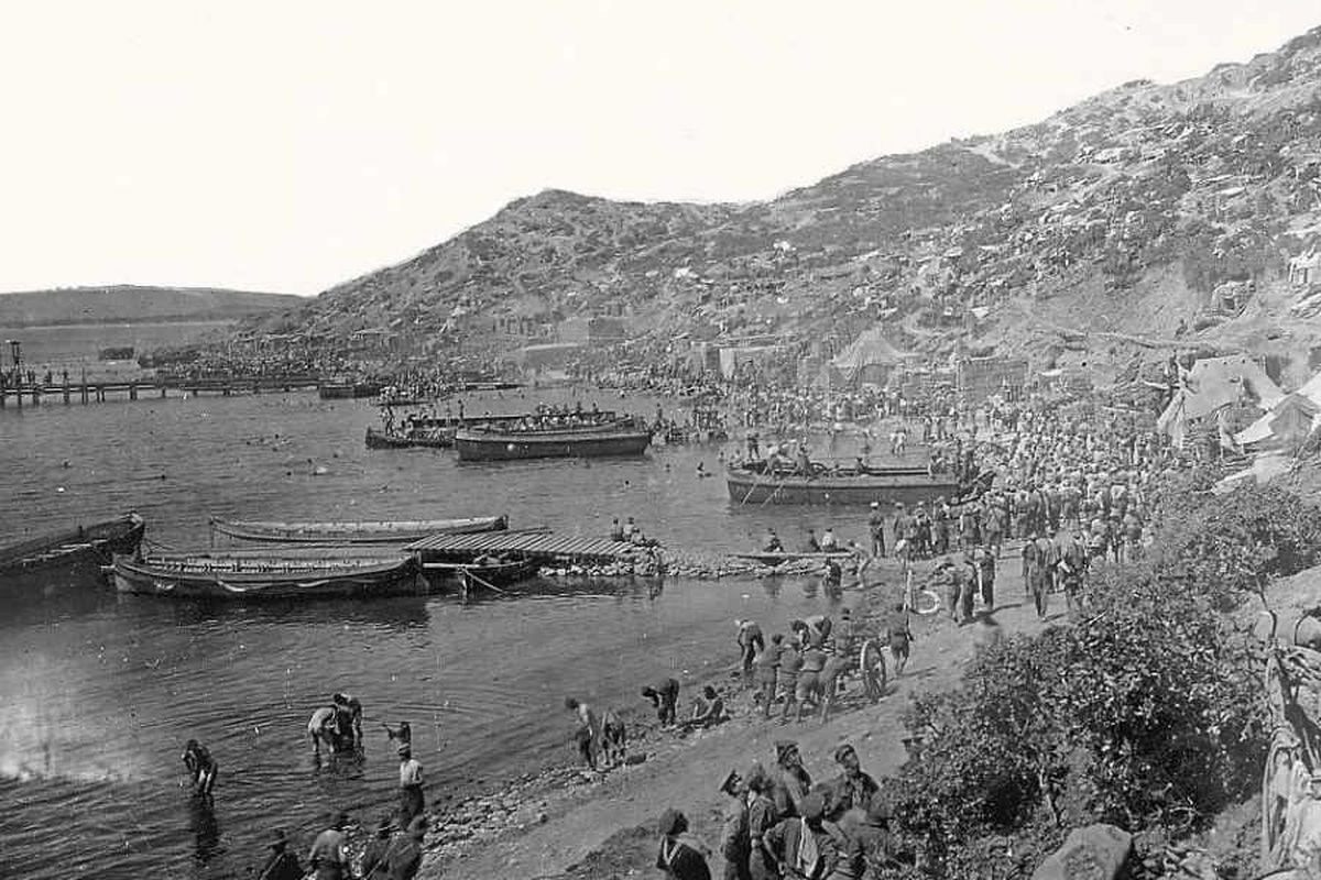 Black Country heroes of doomed Gallipoli