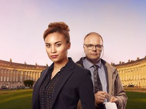 Jason Watkins and Tala Gouveia
