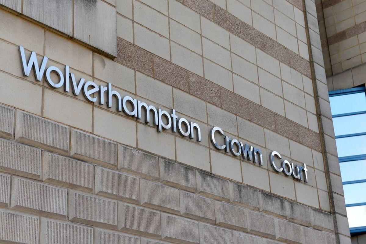 Wolverhampton Crown Court where the case is heard