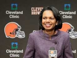 Condoleezza Rice laughs off claim she could be Cleveland Browns NFL coach
