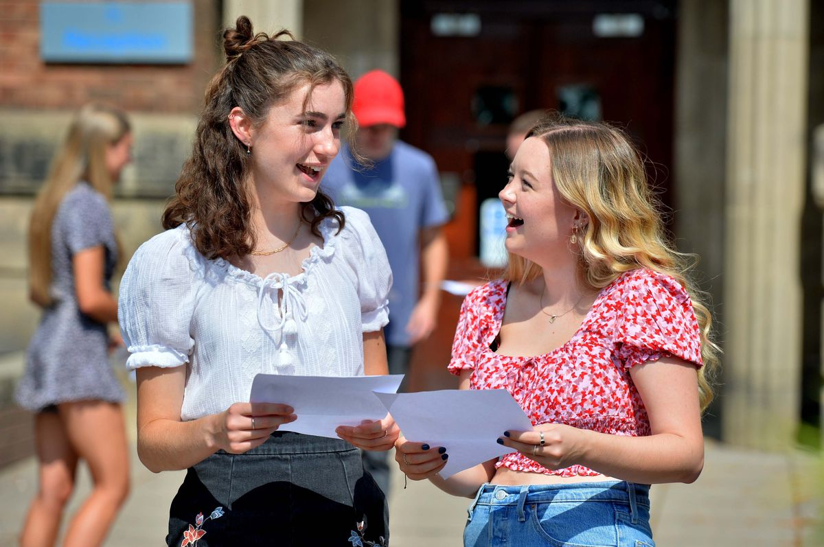 Students can return to college to pick up their A-level results this week