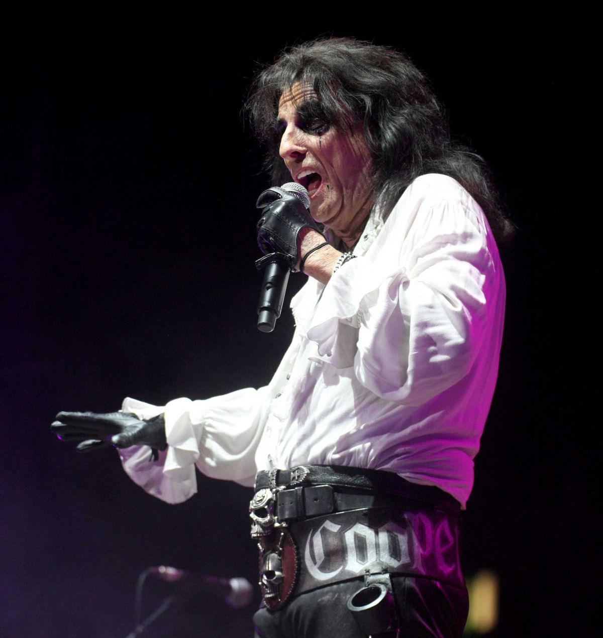 Alice Cooper in Birmingham. Pictures by: Andy Shaw