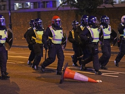 Three sought over clashes following death of man after police chase