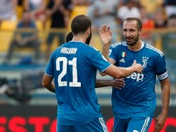 Captain Chiellini clinches opening-day victory for champions Juventus