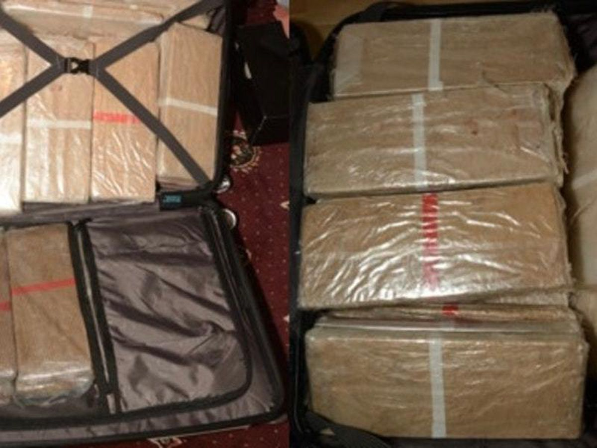 £3m worth of heroin that was seized by police at an address in Bradford, West Yorkshire