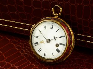 The  Thomas Tompion watch. Photo: Fellows Auctioneers.