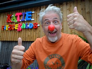 Eddy Morton is ready to clown around at the forthcoming comedy festival at Katie Fitzgerald's in Stourbridge