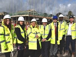 Work progressing on 63 council houses in Tipton