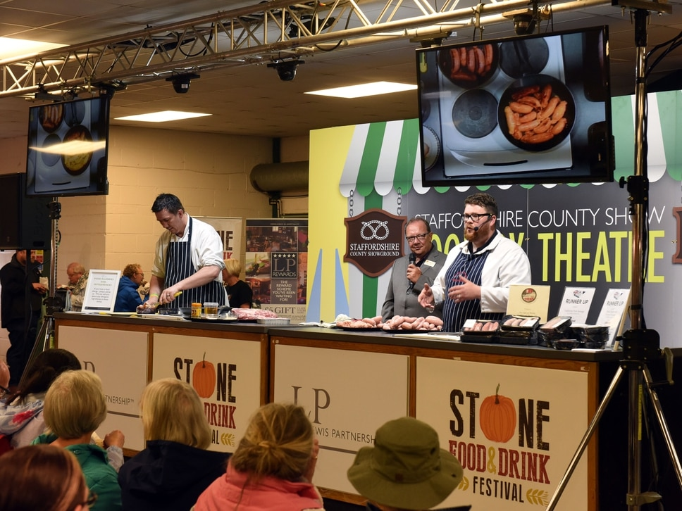 Show organisers getting fired up as cookery theatre changes hands