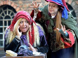 Fortune teller Sarah Bradbury is haunted by the white rabbit – once a local term for a white witch – played by Lucy Thorpe