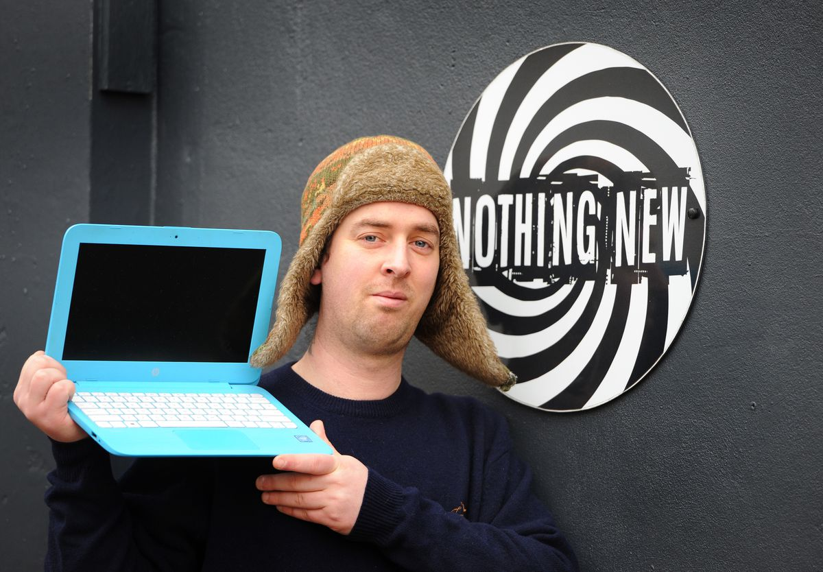 Tom Murray of Nothing New in Stafford is one of the Salvage Sunday community