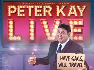 Peter Kay is back with a huge nationwide tour