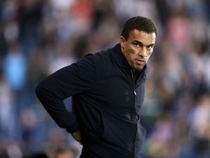 """West Bromwich Albion manager Valerien Ismael during the Sky Bet Championship match at The Hawthorns, West Bromwich. Picture date: Friday September 24, 2021. PA Photo. See PA story SOCCER West Brom. Photo credit should read: Bradley Collyer/PA Wire...RESTRICTIONS: EDITORIAL USE ONLY No use with unauthorised audio, video, data, fixture lists, club/league logos or """"live"""" services. Online in-match use limited to 120 images, no video emulation. No use in betting, games or single club/league/player publications.."""