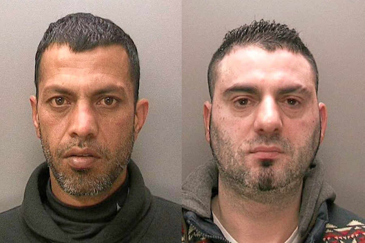 Kings of counterfeit Gucci and Nike empire back behind bars