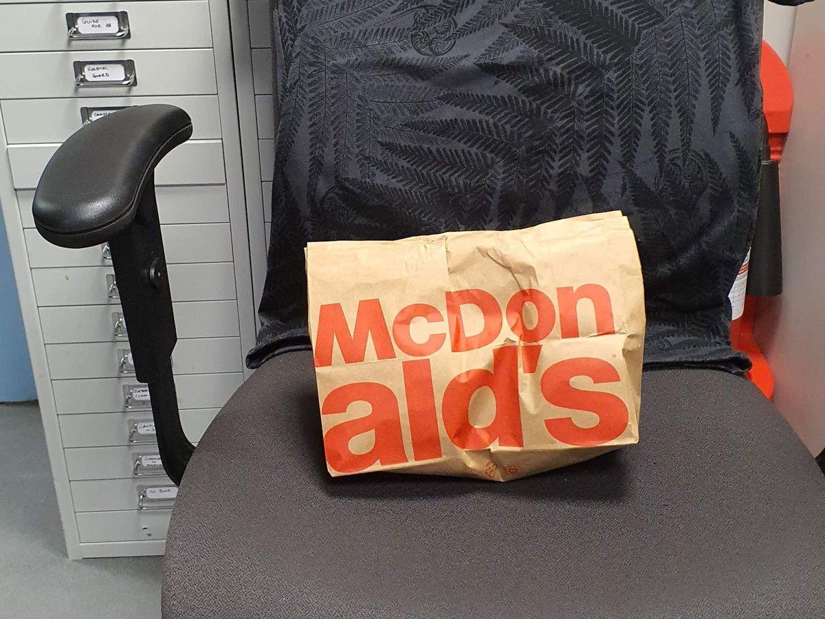 Officers buy McDonald's breakfast in tribute to fallen colleague
