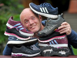 David Wall from Coseley has raised £1,000 so far through his steps challenge