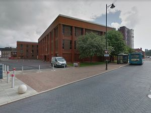 The former Stafford Magistrates Court in South Walls, Stafford. Photo: Google Maps