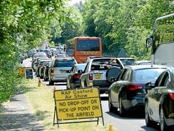 Advice given on Cosford Air Show traffic