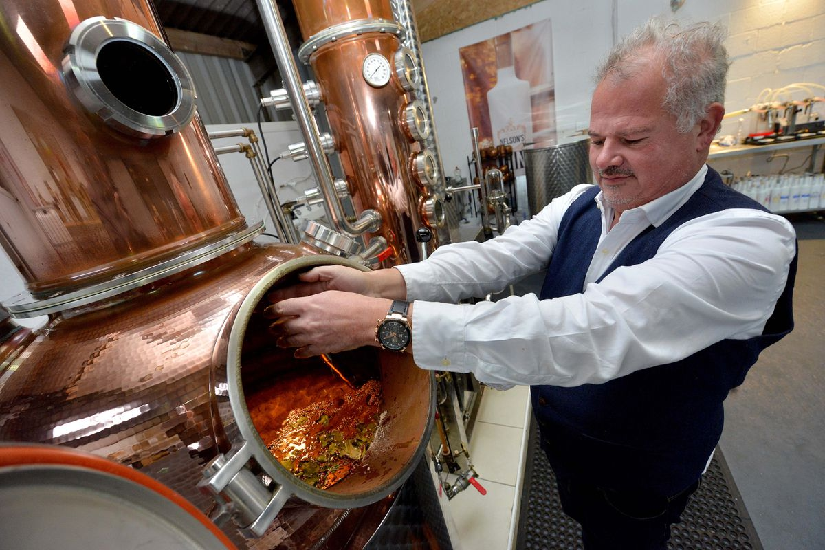 Former chef Neil set up the distillery in 2016.