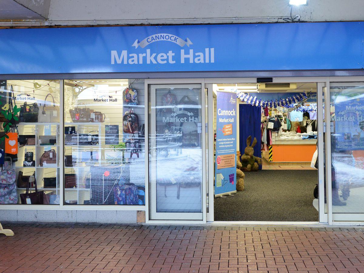 Cannock's Indoor Market Hall