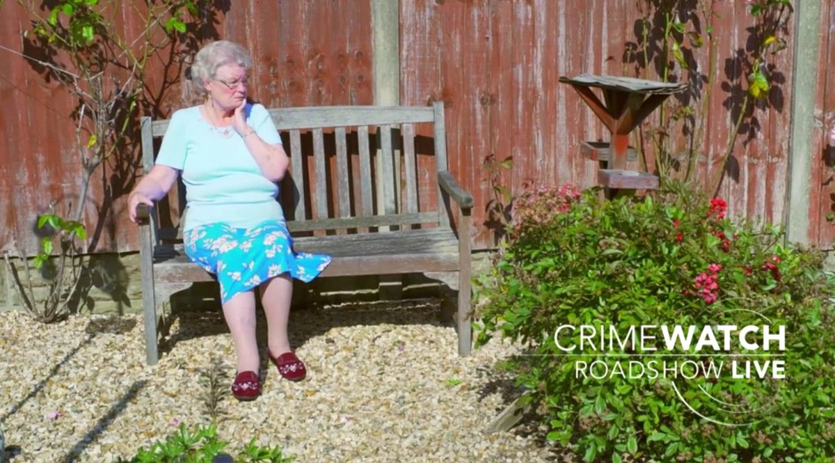 Doreen has suffered two heart attacks since the ordeal in May. Photo: BBC Crimewatch Roadshow