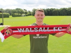 Caolan Lavery happy to have settled down at Walsall
