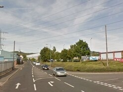 Portway Road crash: Men injured after two-car collision near Matalan