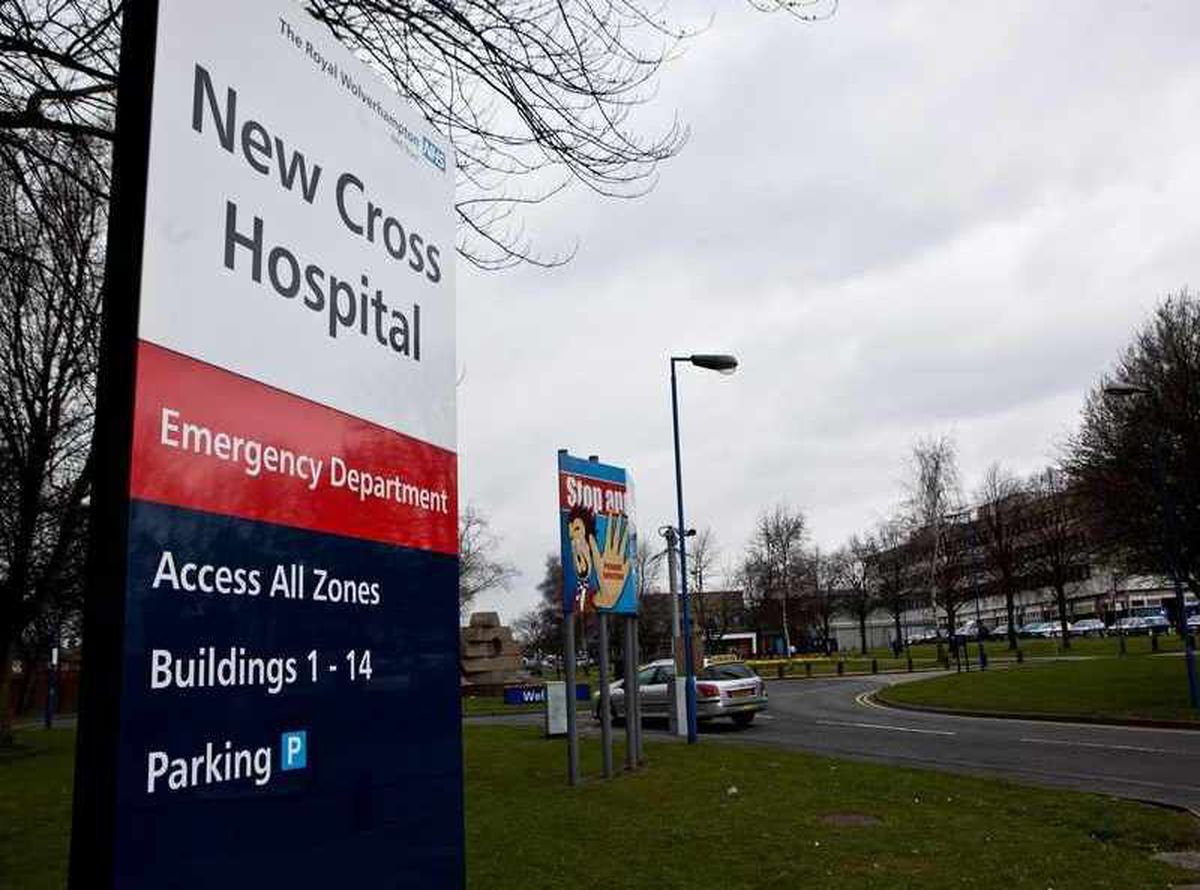 New Cross Hospital, in Wolverhampton
