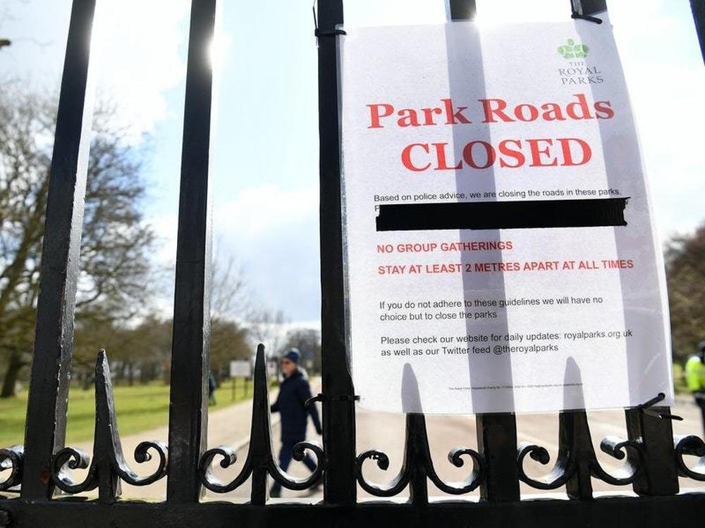 Coronavirus Lockdown In The UK Extended For Three Weeks