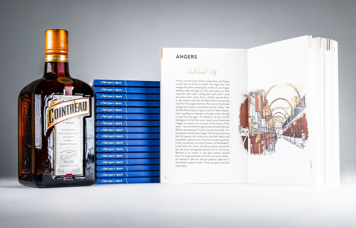 Cointreau and Night Time Walks book set