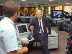 Hard-pressed:Boris Johnson a prime minister made by newspapers
