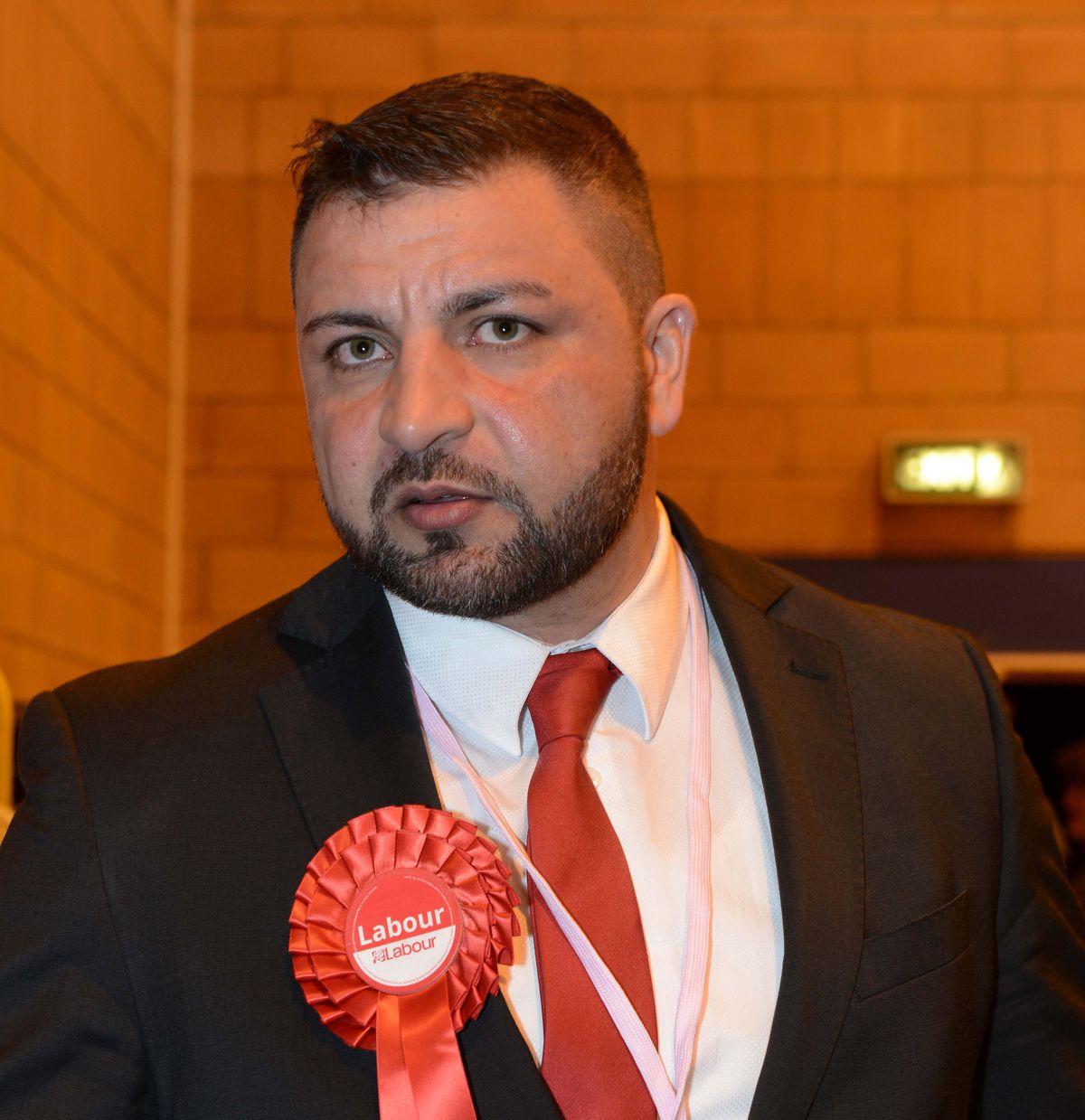 Labour group leader Councillor Qadar Zada