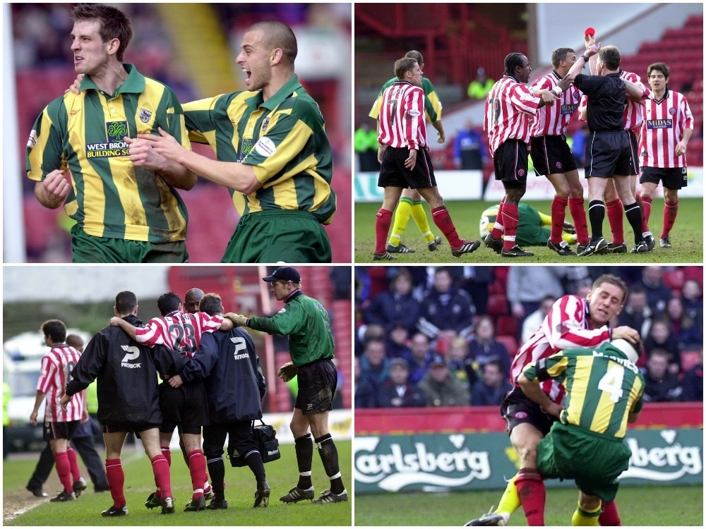 5c232a300c7 Sheffield United v West Brom: Remembering the 'Battle of Bramall ...