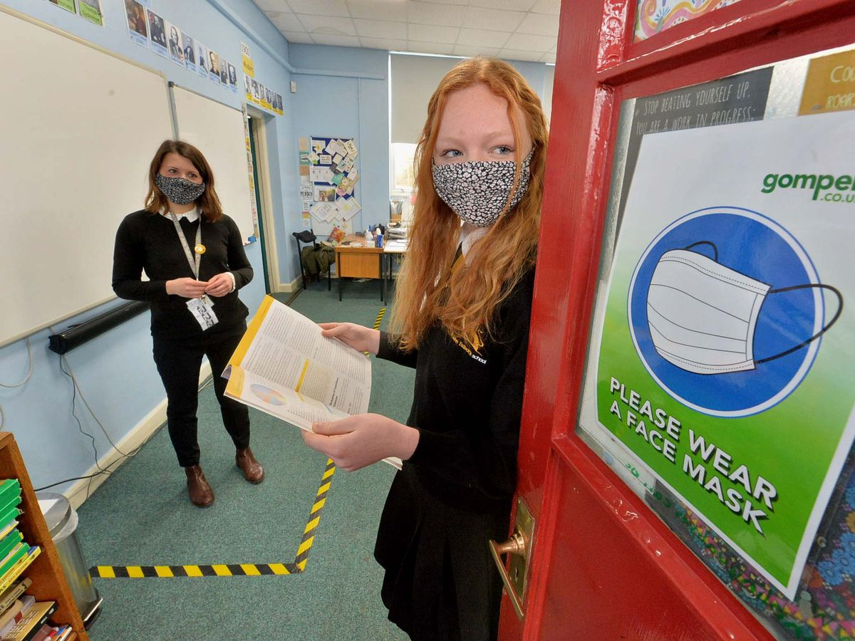 Masks could still appear in schools from September