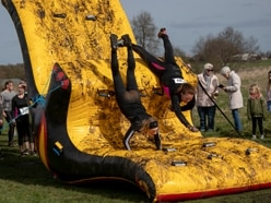 500 extreme warriors tackle assault course for charity