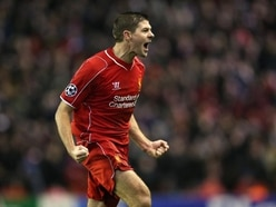 Steven Gerrard still celebrates Liverpool goals as if he were on the pitch