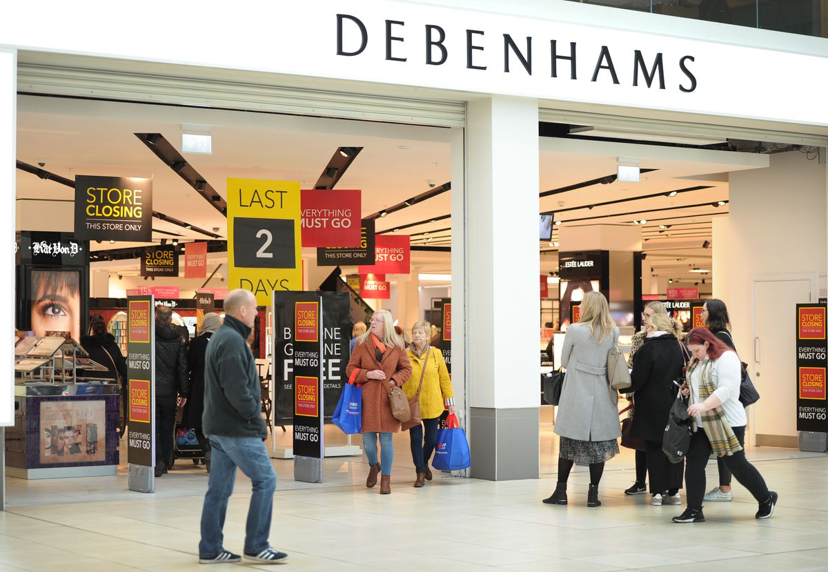 Debenhams lasted just two years in the Mander Centre