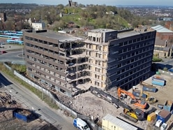 Aerial photographs show scale of Cavendish House demotion