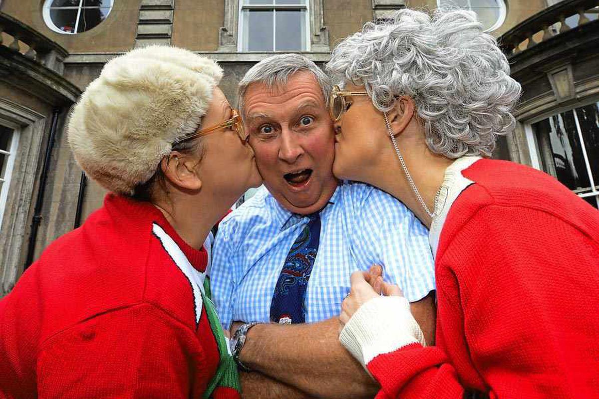 WATCH: Dancing Grannies open hospice orangery