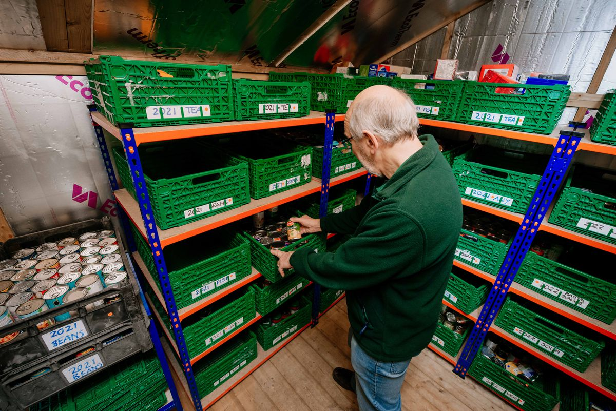 The Trussell Trust Food Bank at Bargates Church Hall in Whitchurch.