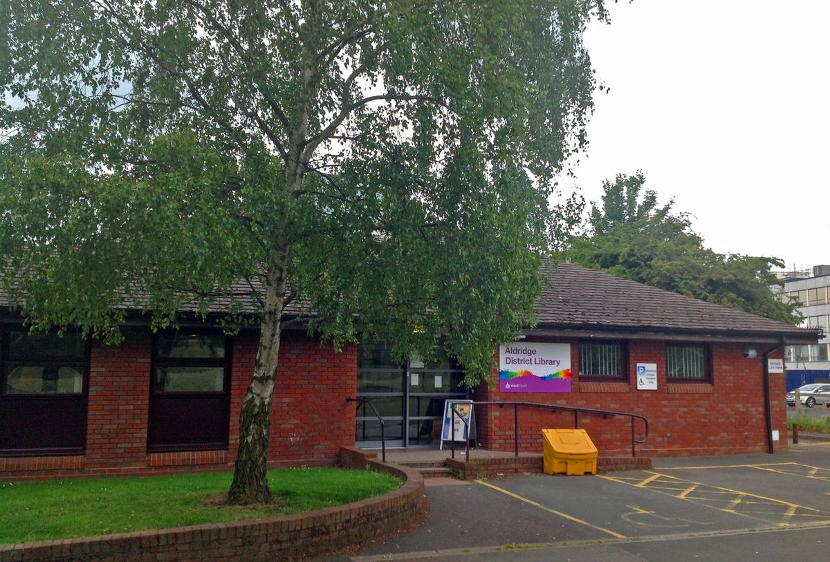 Aldridge District Library (pic. Walsall Council)
