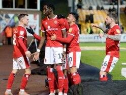 Walsall striker Elijah Adebayo thankful for Wes McDonald assistance