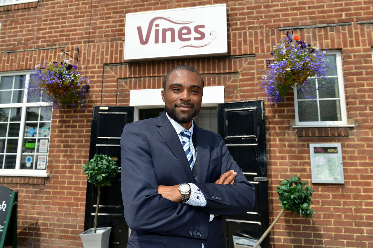 Kevin Davis, chief executive of Vine Trust charity