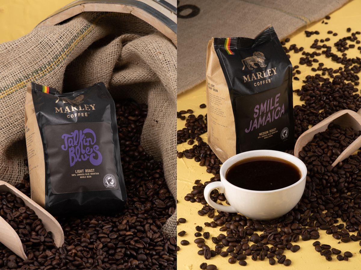 Marley Coffee: Talkin Blues and Smile Jamaica