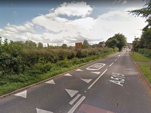 A Google Street View image of the southbound A519 entrance to Eccleshall looking towards Castle Street
